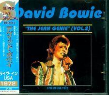 "DAVID BOWIE ""the jean genie"" (Vol.2) Direct Input Japan CD SP-013 OBI Rare"