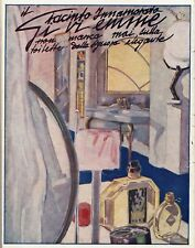 PUBBL. 1930 GI.VI.EMME GIACINTO INNAMORATO PROFUMO TOILETTE SIGNORA ELEGANTE