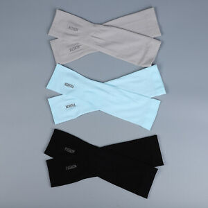 Set of 3 Cooling Sleeves Sun Protection Hand Cover 90% Polyamide 10% Spandex