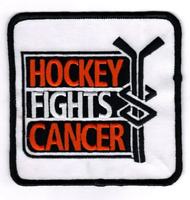 NHL Hockey Fights Cancer Logo 2001-2002 Season Worn By All Teams Jersey Patch