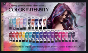 Joico Color Intensity ALL SHADES 118ml wash in Semi permanent high pigment colou