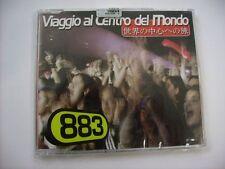 883 - VIAGGIO AL CENTRO DEL MONDO - CD SINGLE SIGILLATO 1999 - MAX PEZZALI