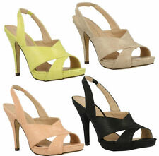 Anne Michelle Sandals Stiletto Heels for Women