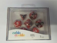 More details for oakie doakie dice - rpg set - gemidice, vampire (7 dice, rpg set)