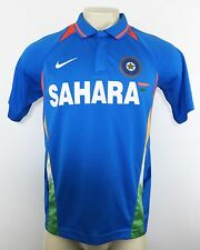 NIKE A49 Mens Sahara Cricket Sachin Tendulkar #10 Dri Fit Jersey Polo Shirt Sz M