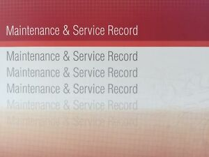 Honda Generic Replacement Car Service History Book New Handbook Blank R