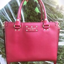Kate Spade Small Wellesley Quinn in Red Plum - Hand/Crossbody Bag