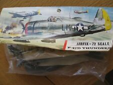 AIRFIX PLASTIC MODEL KIT 1/72 Republic P-47D Thunderbolt rayure rouge sac