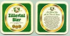 sehr schöner alter Bierdeckel Zillertal Bier      B