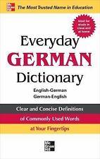 Everyday German Dictionary: English-German/German-English (Paperback or Softback