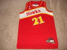 Vintage Reebok HWC Hardwood Classics Atlanta Hawks Dominique Wilkins XL NOT FAKE