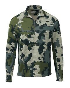 Kuiu Verde 2.0 Peloton 97 Quarter Zip Hunting Shirt-M
