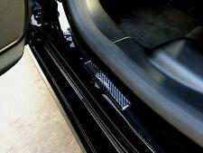 2pcs Cadillac Doom Carbon Fiber Door Step Door Sills Sticker Decal