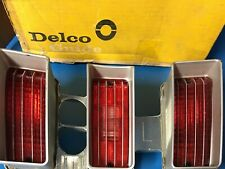 NOS 1970 70 CHEVROLET IMPALA LH TAIL & BACKUP LIGHT LAMP ASSEMBLY LENS GM 917673