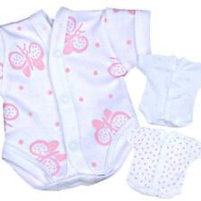 Peleles y bodies rosa 100% algodón para niños de 0 a 24 meses