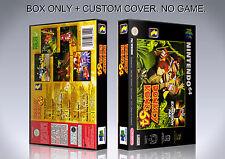 DONKEY KONG COUNTRY. PAL VERSION. Box/Case. Nintendo 64. BOX + COVER. (NO GAME).