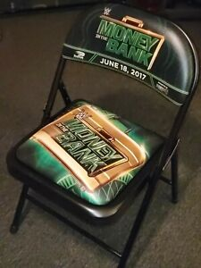 WWE 2017 Money in the Bank Event Chair