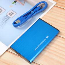 2.5inch USB 3.0 1TB/2TB 500GB External Hard Drive Disk HDD Box For PC Laptop USA