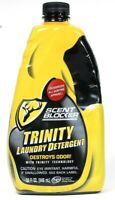 1 Bottle Scent Blocker 32 Oz Trinity Destroys Odor Unscented Laundry Detergent