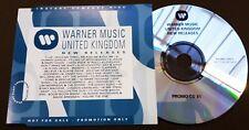 POGUES CD SHANE MacGOWAN U2 Hold Me HUMAN League WEA NEW RELEASES Promo CD 81