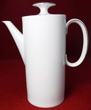 THOMAS (Rosenthal) china PLATINUM BAND pattern COFFEE POT with LID