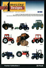 "20 Amazing Designs Embroidery Solutions ""Tractors"" Collection 1"