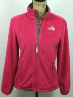 THE NORTH FACE Women's Osito Full Zip Fleese Solid Pink Size Small Jacket