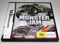 Monster Jam Nintendo DS 2DS 3DS Game *Complete*