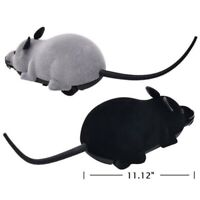 Pet Cat Dog Remote Control Toys Fake Mice Mouse Prank Rat Mock Wireless RC Toys
