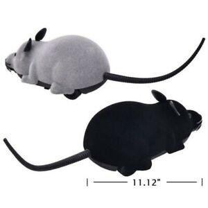 Pet Cat Dog Remote Control Toys Fake Mice Mouse Prank Rat Mock Wireless RC Toys