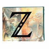 La Légende De Zelda Z Logo Partout Imprimé Bi-Fold Portefeuille Mâle Multicolore
