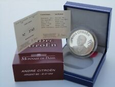 1 euro 1/2 BE France 2008 argent - ANDRÉ CITROËN RARE !!!!