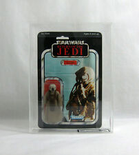 NEW 1983 Vintage Star Wars ✧ 4-LOM ✧ Kenner ROTJ 65 BK UKG 80/75/90 AFA CLEAR