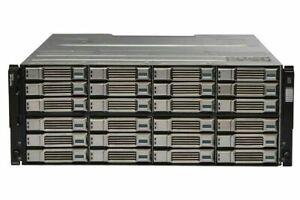 "Dell EqualLogic PS6100E 24x 2TB 6G 7.2K 3.5"" SAS iSCSI SAN Storage 4 X 1GB"