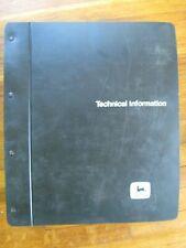 John Deere 8850 Tractor Technical Repair Manual Tm 1254