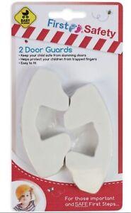 2x HARD FOAM DOOR GUARD FINGER PROTECTOR JAMMER STOPPER BABY CHILD KIDS SAFETY