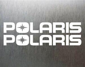 2 Polaris STICKERS vinyl decal sticker racing SNOWMOBILE ASSAULT INDY AXYS RMK