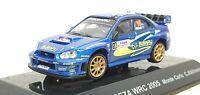 1/64 CM's Rally 2005 SUBARU IMPREZA WRC WRX MONTE CARLO ATKINSON diecast model