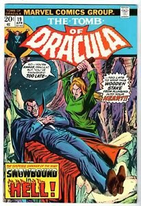 Tomb of Dracula #19 Featuring Blade, Near Mint Minus Condition