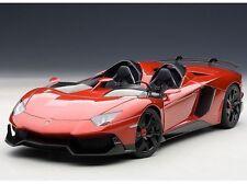 1:18 AutoArt Lamborghini Aventador J (rosso J / Metallico Rosso