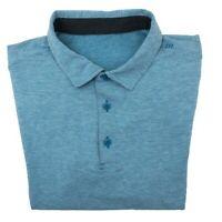 Lululemon Men's XS Extra Small Heather Blue Performance Golf Polo Shirt