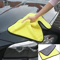 Microfaser Trockentuch Auto Car Wäsche Reinigung Gelb Mikrofaser Tuch 45*38 cm