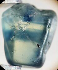 1 Saphir bleu brut de Madagascar 3,65 ct/ pierre précieuse / sapphire / corindon