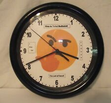 """Custom Graphic """"This is Total Bullshit Clock"""" with Smiley Flip Off-Exceptional!"""
