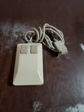 Commodore 2-Button Mouse  9 pin Tank Cord Vintage Untested