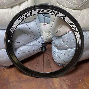 carbon fiber front wheel 700c reynolds tubular