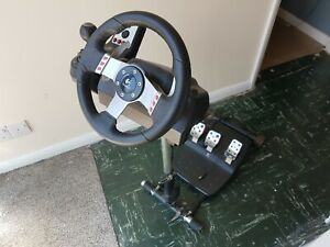 Logitech G27 Wheel, Pedals and Shifter plus Wheel Stand Pro
