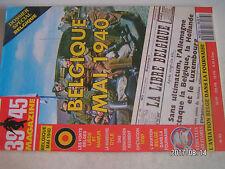 **a2 39-45 Magazine n°83 Les forts belges / L'aviation Belge dans la fournaise