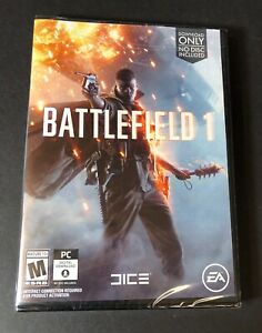 Battlefield 1 [ NO Disc in Case ] (PC) NEW