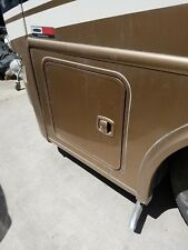 2013 PALAZZO MOTORHOME DRIVER LH SIDE STORAGE DOOR 25X23 BROWN COLOR
